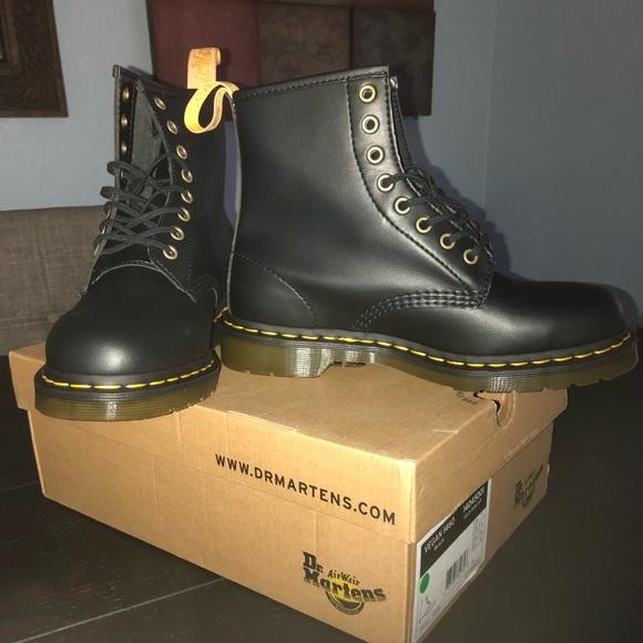 ded546c1d8b Dr. Martens Shoes | Vegan 1460 Dr Martens Black Felix Rub Off | Poshmark